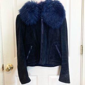 Vintage 70's Penny Lane Fur Shearling German Coat